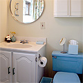 Blue Bathroom, Finished