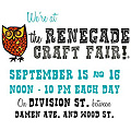 Renegade Craft Fair 08