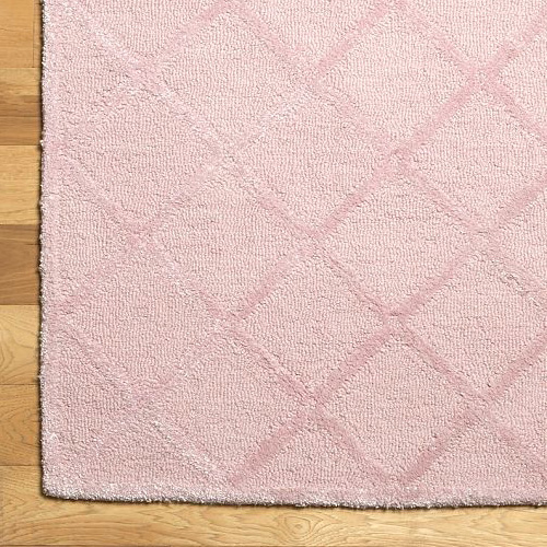Pink Trellis Rug