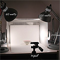 Homemade Photography Lightbox
