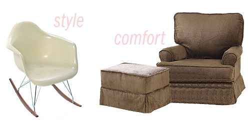 style vs. comfort