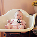 Three Months Old (Eleanor's Monthly Photo)