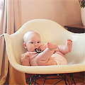 Four Months Old (Eleanor's Monthly Photo)