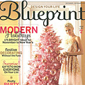 Blueprint Pink Christmas