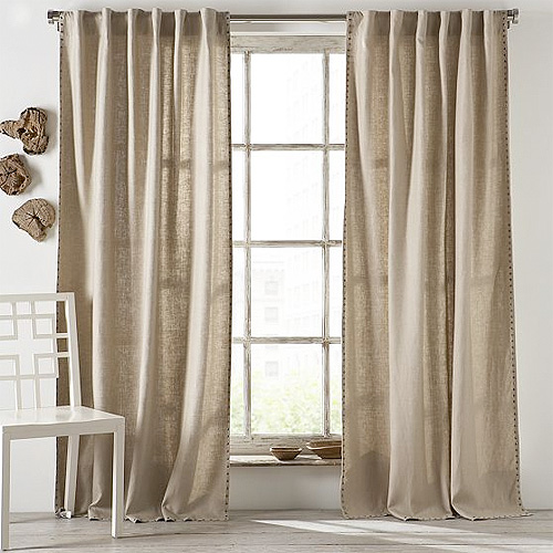 Nailhead Curtains