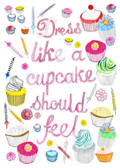 dress like a cupcake should feel