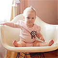 Nine Months Old (Eleanor's Monthly Photo)