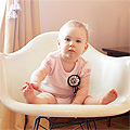 Eleven Months Old (Eleanor's Monthly Photo)