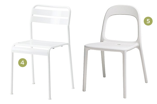 Kitchen Chairs Ikea Sarkem Source · Outdoor Dining Chair Options Making it Lovely  sc 1 st  thesecretconsul.com & Ikea Chairs White Plastic - thesecretconsul.com islam-shia.org
