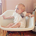 Thirteen Months Old (Eleanor's Monthly Photo)