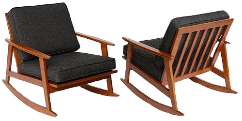 Awesome Mid Century Rocker Chair