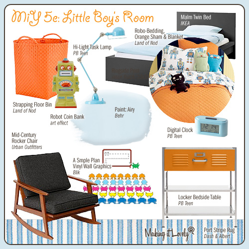 MiY 5e: Little Boy's Room