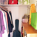 Organized Office Closet