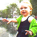 Eleanor at Crown Fountain