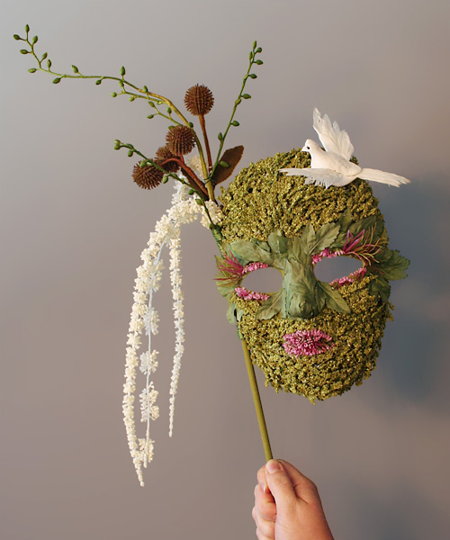 Halloween Mask for Better Homes & Gardens