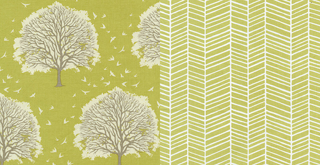 Modern Meadow Fabric by Joel Dewberry for Freespirit