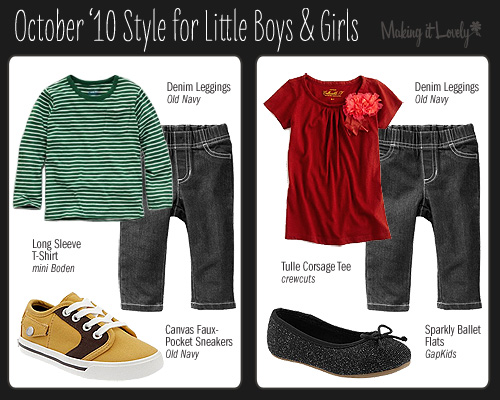 Style: October '10 for Kids