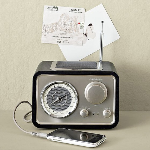 Vintage Style Radio Making It Lovely