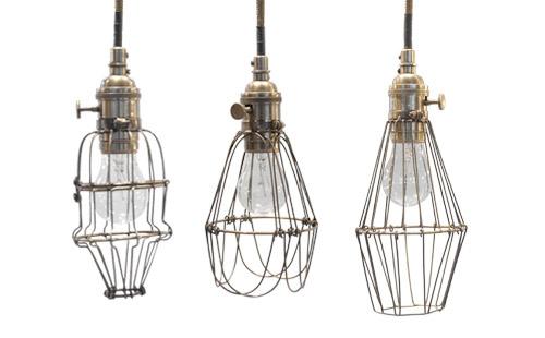 workshop cage lights making it lovely. Black Bedroom Furniture Sets. Home Design Ideas