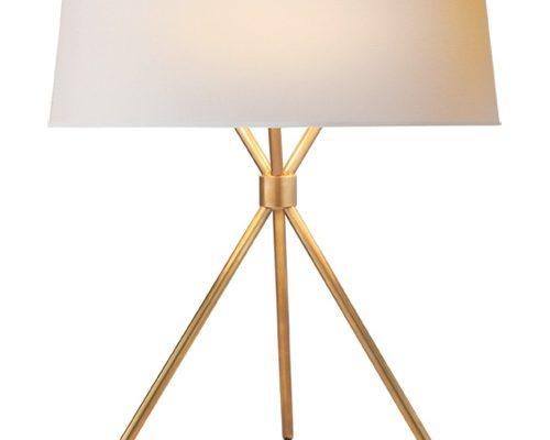 Fancy Brass Table Lamp