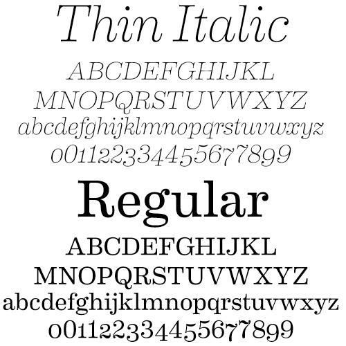 Eames Century Modern Font