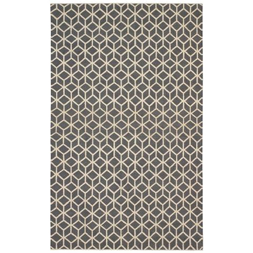 Facet Charcoal/Cream Rug
