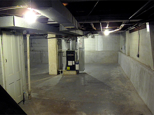 The Empty, Clean Basement