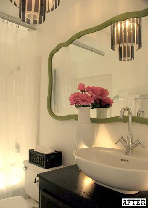 Bathroom Mirror Not Over Sink in search of a bathroom mirror – making it lovely