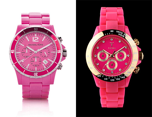 watches dial silicone pink peak ladies sneaky swatch watch