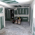 The Basement Drywall is Finished