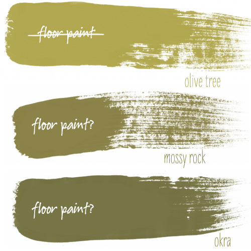 Basement Floor Paint Colors