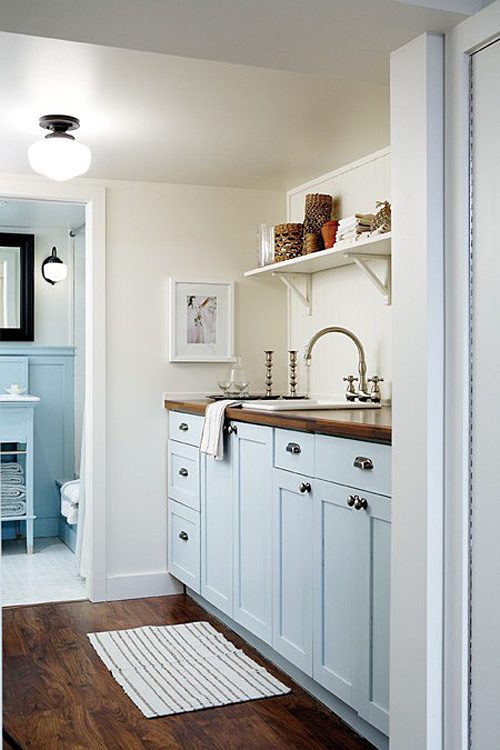 Laundry Room Paint Color | Making it Lovely