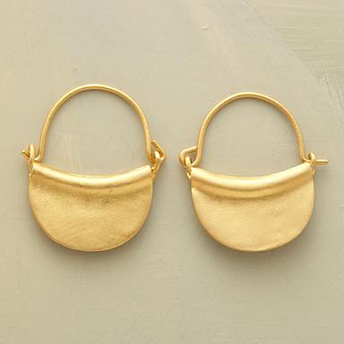 Harvest Hoop Earrings