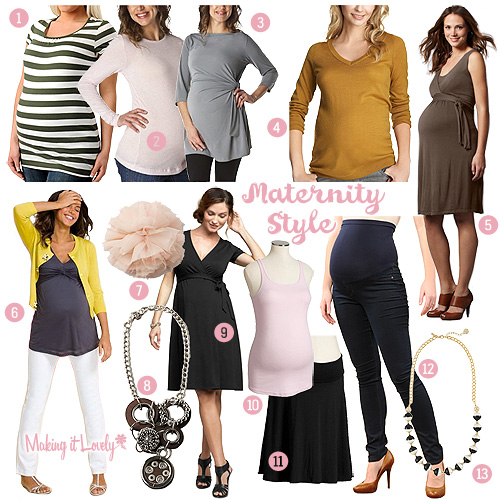 Maternity Fashion Guide Making It Lovely