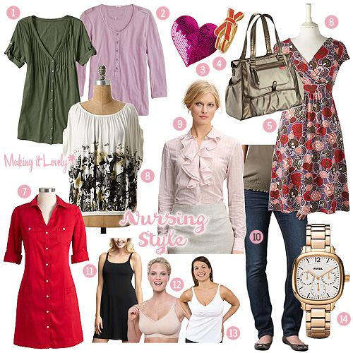 Nursing Fashion Guide Making It Lovely