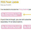 RSS Feed Update