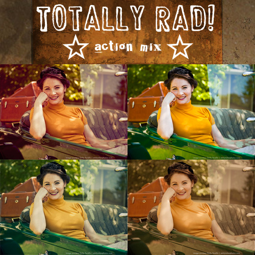 Totally Rad Photoshop Actions