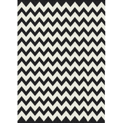 Black And White Zigzag Rug Making It