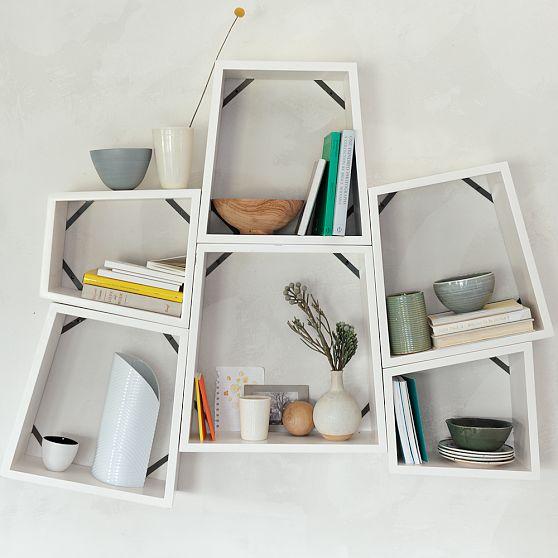 Angle Nesting Shelves
