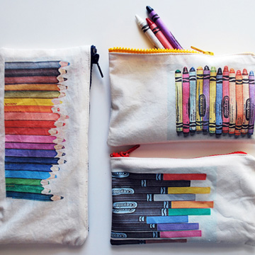 Art Supply Pouches