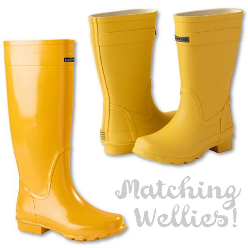 Matching Wellies