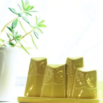Owl Butter Dish