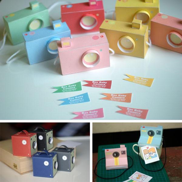 Printable Paper Cameras