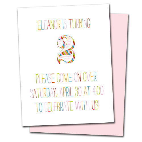 Eleanor's Birthday Card