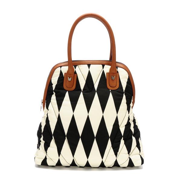 Harlequin Bowler Bag