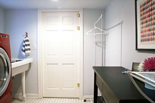 The Basement Laundry Room
