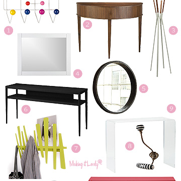 Let's Put Together a Modern Entryway