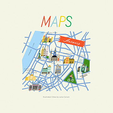 Maps by Lena Corwin