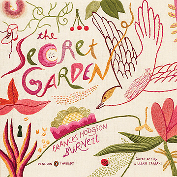 The Secret Garden Embroidered Book Jacket