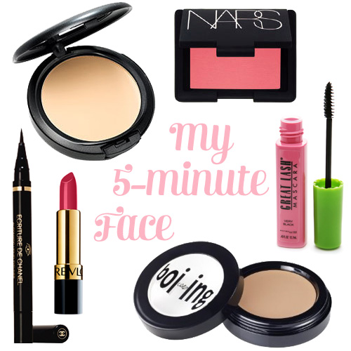 My 5-Minute Face